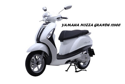 New 2016 Yamaha Nozza Grande 125cc Scooter Hd image