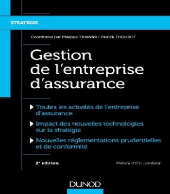 Gestion de l'entreprise d'assurance-Dunod en PDF