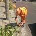 На вулицях Солом'янського району встановлюють антипаркувальні стовпчики