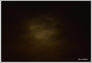 Luna llena de octubre 2016 Montevideo Uruguay