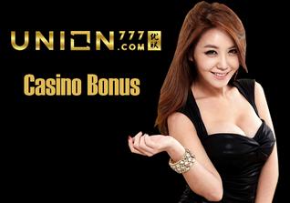 Union777 no deposit bonus