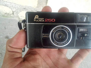 LAPAK BARANG ANTIK : Jual Kamera Jadul Mini Fujica