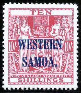 King George Vi Postage Stamps Western Samoa 1945 53 Sg207 214