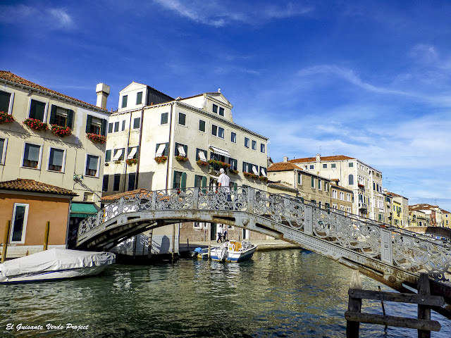 Puente del Gueto Nuevo - Cannaregio, Venecia por El Guisante Verde Project