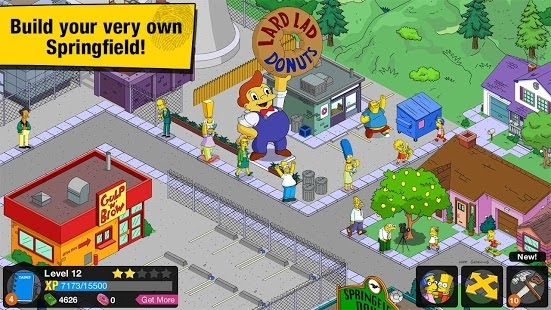 The Simpsons Tapped Out Android APK + Data