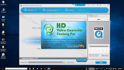 Screenshot WonderFox HD Video Converter Factory Pro 14.3 Full Version