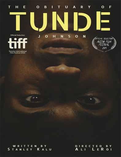 El obituario de Tunde Johnson