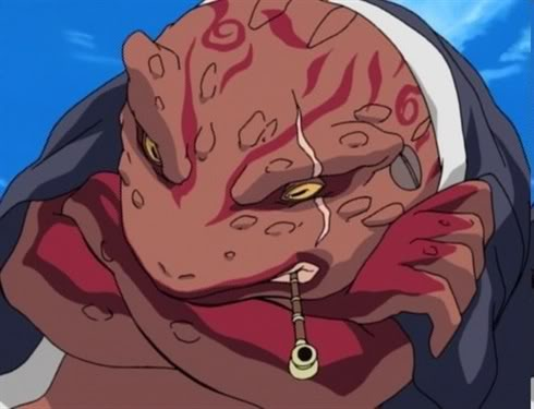 Naruto Karakter - Kumpulan Foto Gamabunta dan Fakta Gamabunta