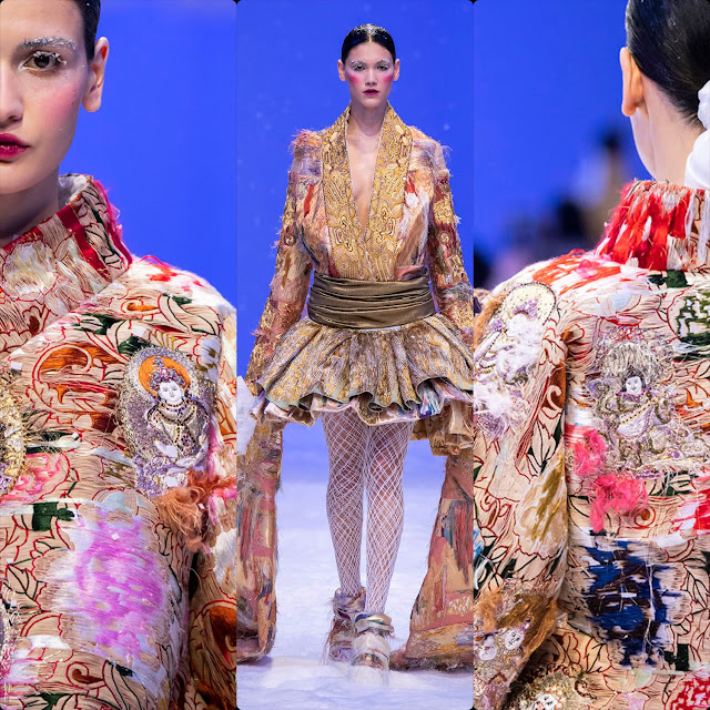 Guo Pei Haute Couture Spring Summer 2020. RUNWAY MAGAZINE ® Collections