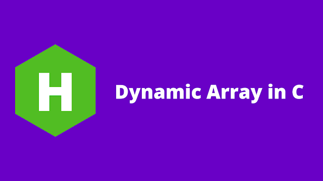 HackerRank Dynamic Array in C problem solution