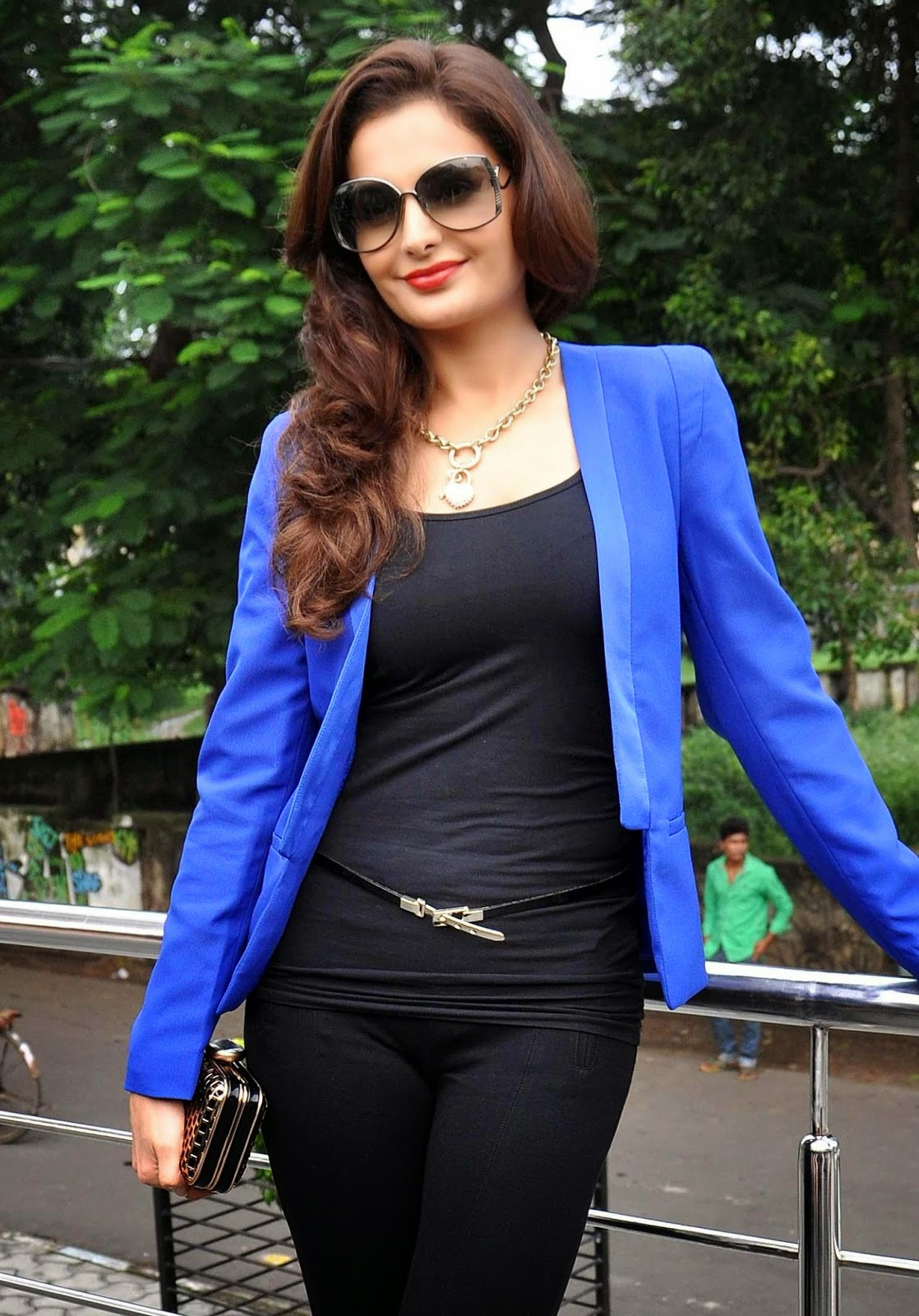 High Quality Bollywood Celebrity Pictures Monica Bedi -8763