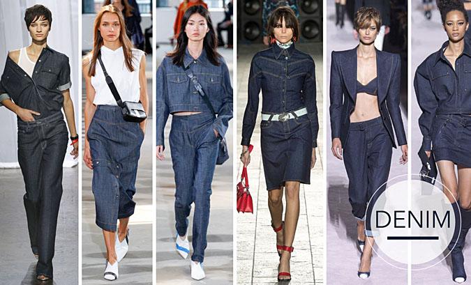 Modny jeans 2018