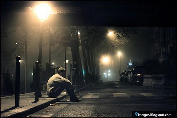 Girl N Boy Hug Wallpapers Sad Alone Boy Street Night