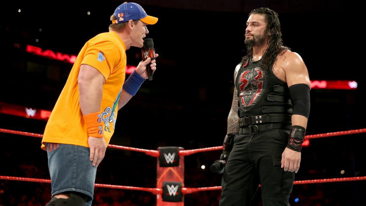 John Cena poderá confrontar Roman Reigns no WWE Money in the Bank