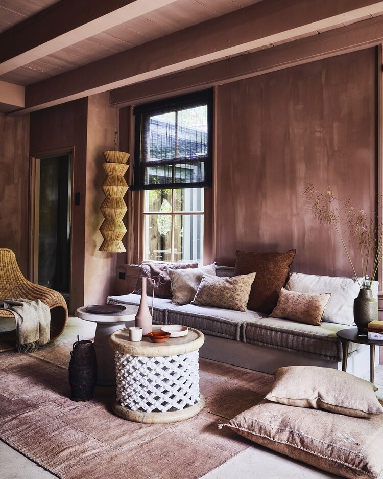 Warm earthy hues for a Moroccan-Style home