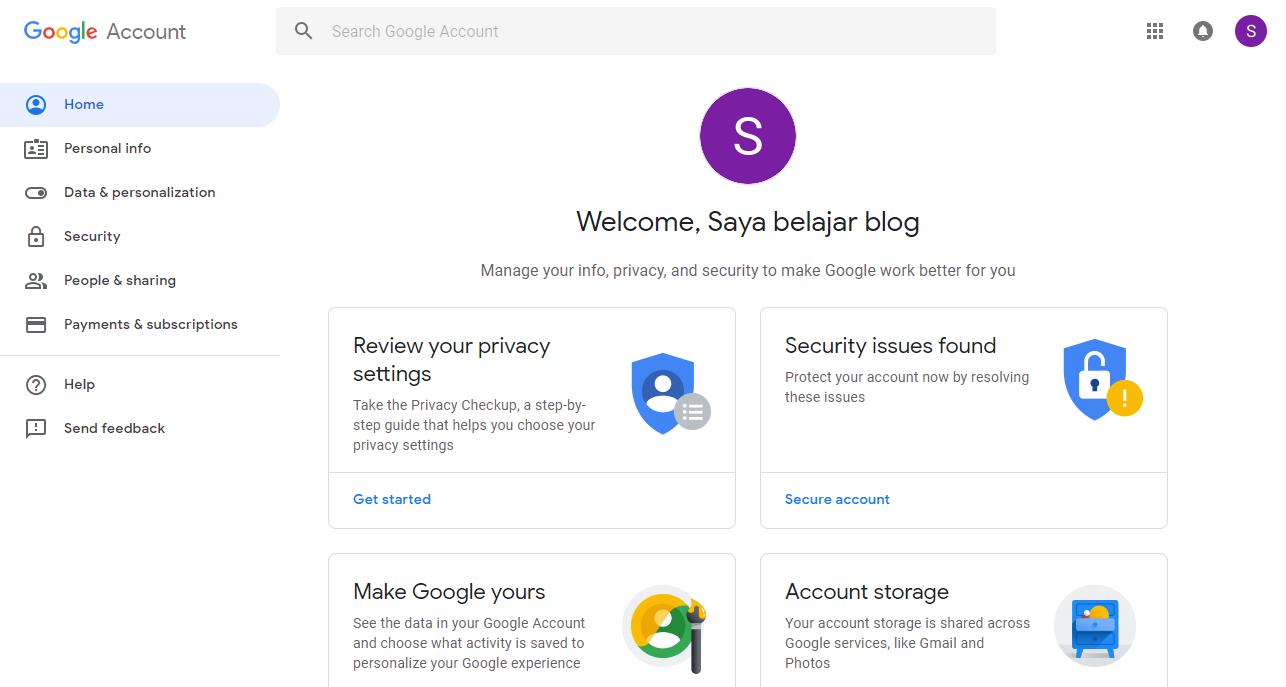 Cara Membuat Akun Gmail 4