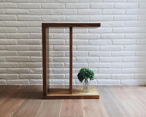 wwww.Tinuku.com Undhagi studio presents small double-faced table design can applied to decorative installations