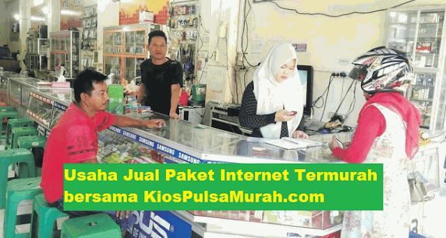 Usaha Jual Paket Internet Termurah bersama KiosPulsaMurah.com