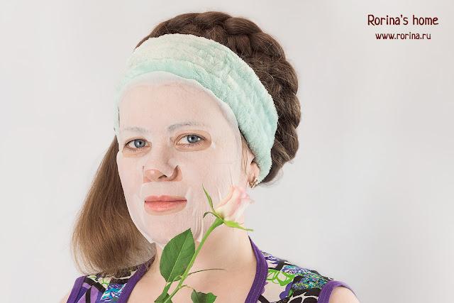 Тканевые ароматические маски для лица Beaudiani Aroma Mask: отзывы