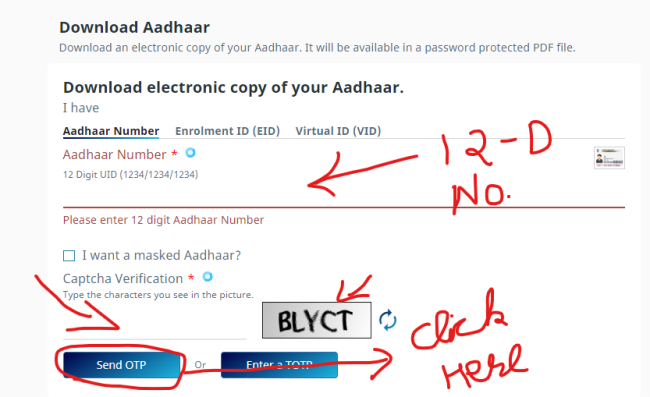 How to Download Your Aadhar Card Officially