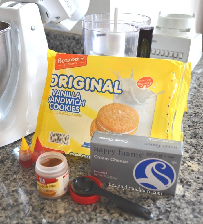 Pumpkin Spice Truffle Ingredients