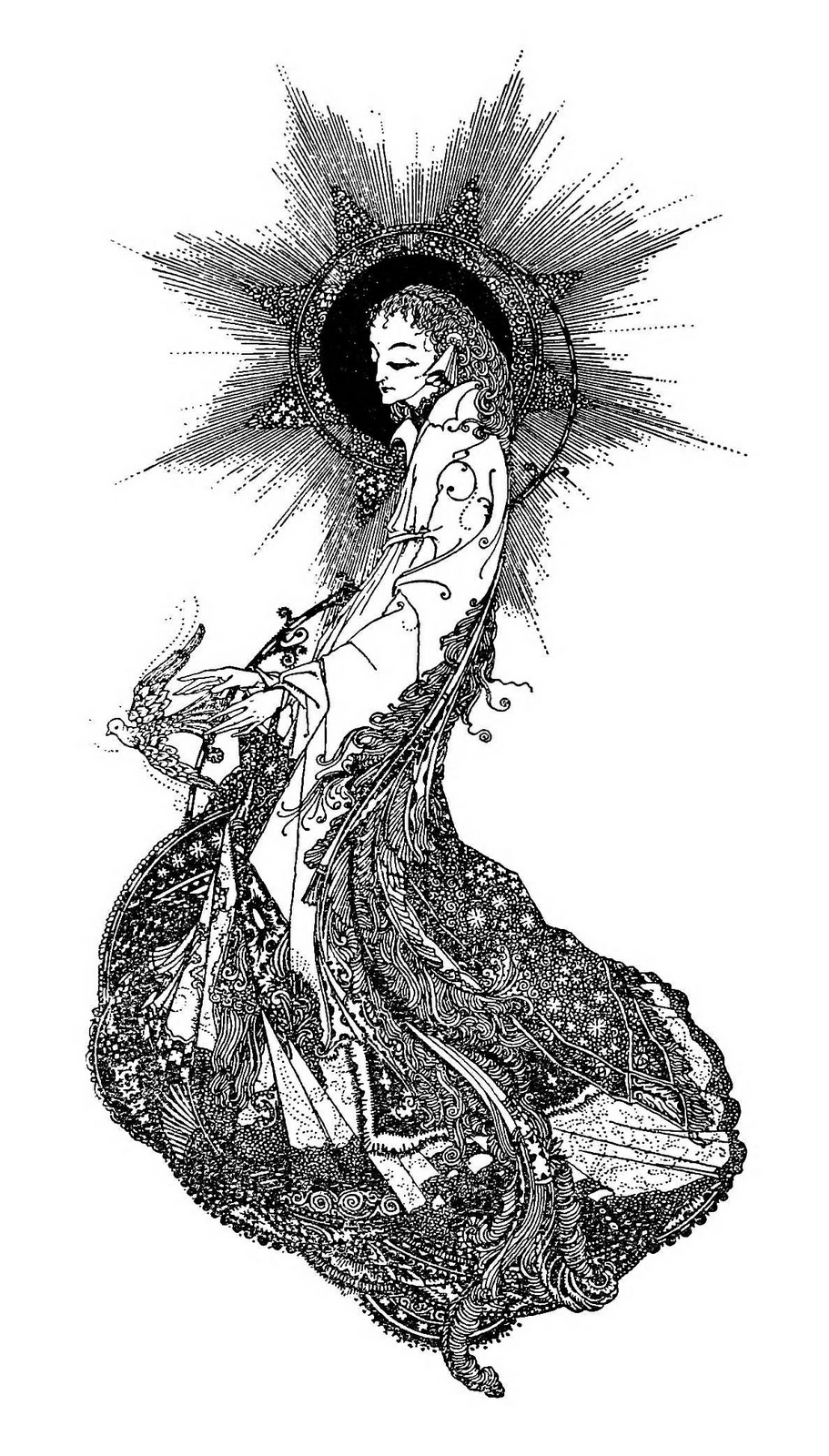 The Spring Essentials You Need To Nail French Girl Style: Art Of Narrative: Harry Clarke: The Year's At The Spring