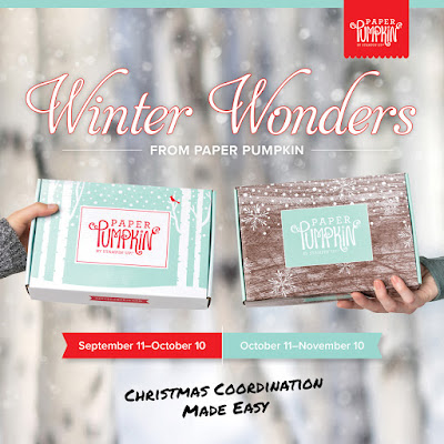 October and November 2019 Winter Wonders Paper Pumpkin kits - Subscribe with Nicole Steele