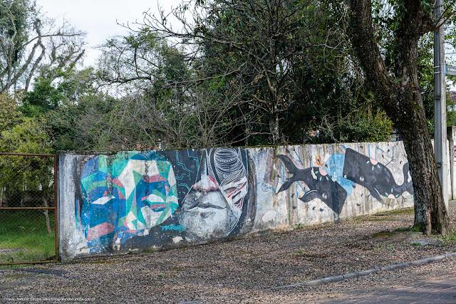 Grafite em um muro