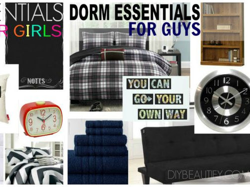 Back to School Ideas for Dorm Living