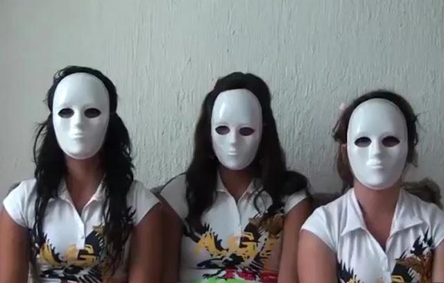 VIDEO.- Las Mujeres enmascaradas que enfrentan al Cártel Jalisco Nueva Generacion