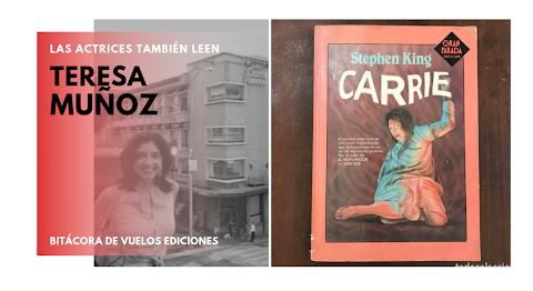 LAS ACTRICES TAMBIÉN LEEN El placer por lo macabro | Teresa Muñoz