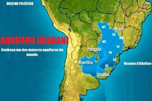 Aquífero Guarani - Um dos maiores aquíferos do mundo