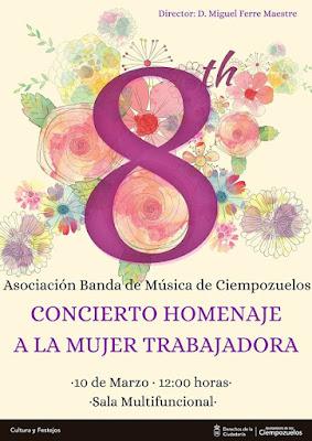 Concierto Asociación banda de música de Ciempozuelos