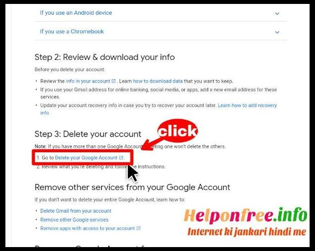 How to delete gmail account Gmail id ko remove kaise kare t