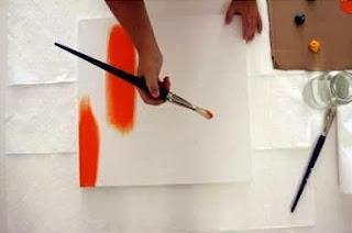 Cara Membuat Kerajinan Tangan Sederhana, Lukisan Unik 2