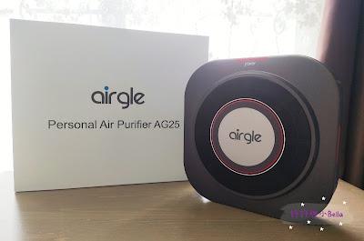 機身輕巧、性能強大 ~ Airgle AG25「個人 • 車用」空氣清新機