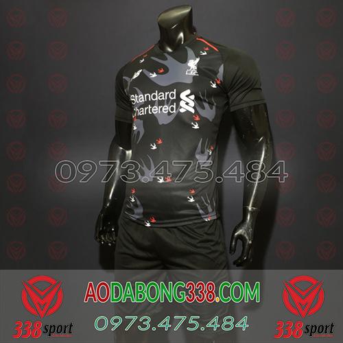 Áo Liverpool Đen 2020 Training 15