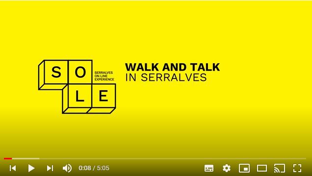 tela de vídeo com atividade SOLE