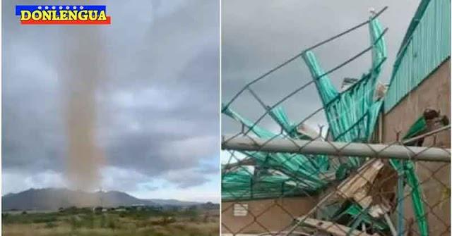 Tornado causó daños a 20 viviendas en Nueva Esparta