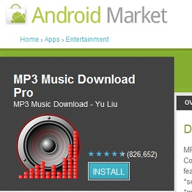 Google Refused to Remove MP3 Download App Technology