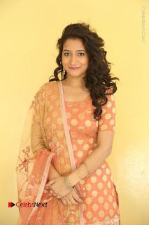 Telugu Actress Santoshi Sharma Latest Stills in Salwar Kameez at HBD Movie Teaser Launch  0001.JPG