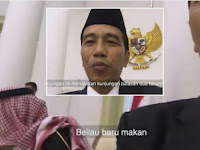 Indonesia Disebut Kurang Tata Krama, Gara-Gara Pak Jokowi Ajak NgeVlog Raja Saat Makan