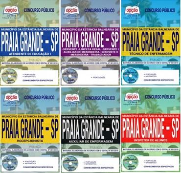 Apostila Prefeitura de Praia Grande SP 2018