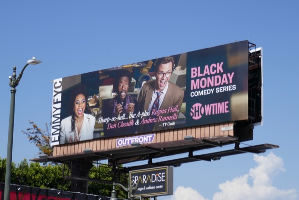 Black Monday 2019 Emmy FYC billboard