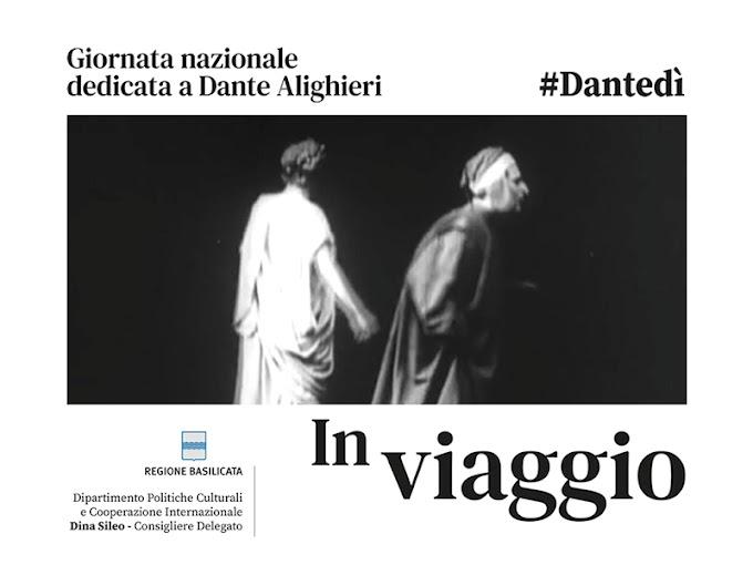 """Dantedì. In Basilicata un """"video arte"""" per il Sommo Poeta"""