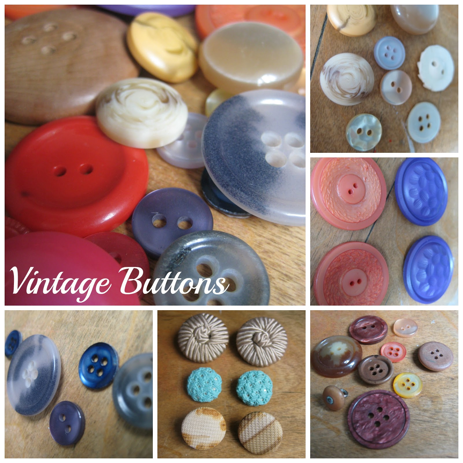 The Old Lady's Button Box