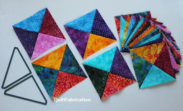 multi color quilt blocks