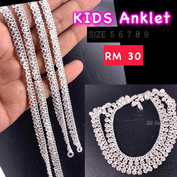 Silver Payal Design