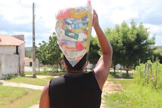 1841 famílias inscritas na OSC CEACRI são beneficiadas com a entrega do Kit Compaixão em Itapiúna e região