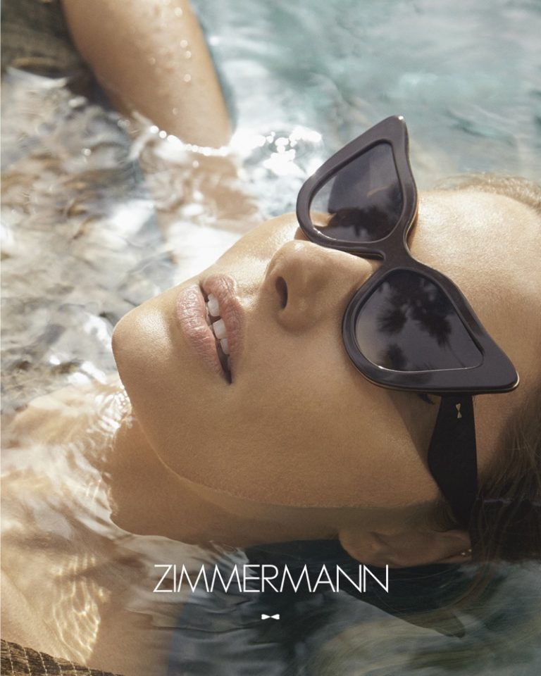 Zimmermann Paisley Sunglasses in Black